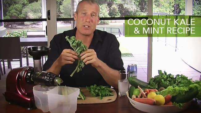 Coconut Kale & Mint Recipe