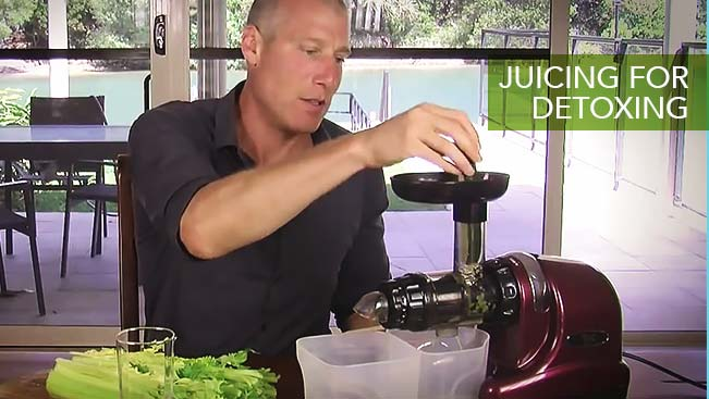 Juicing For Detoxing