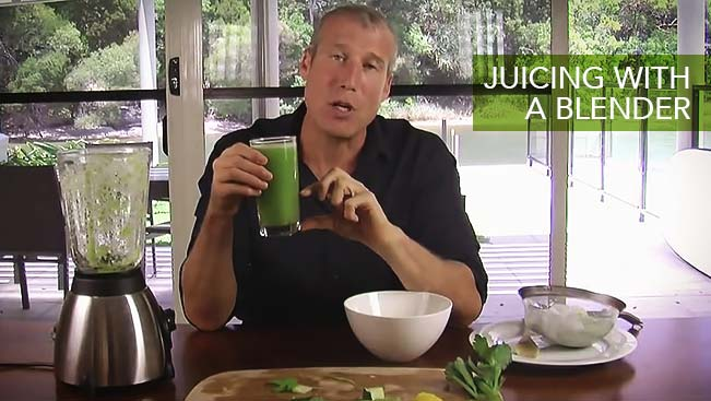 Juicing with a Blender