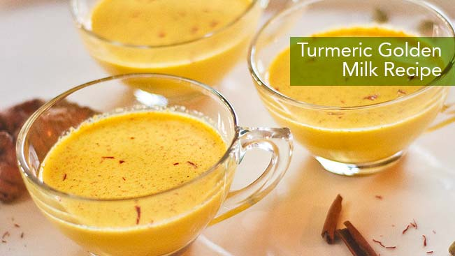 Turmeric Golden Milk Recipe