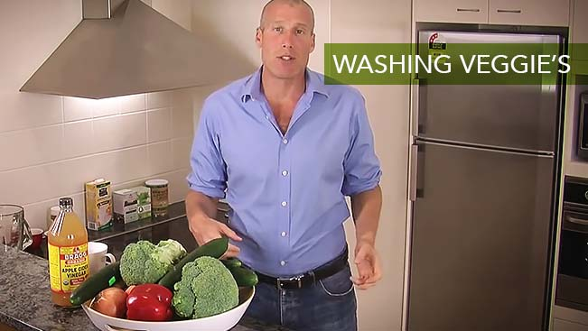 Washing Veggie's